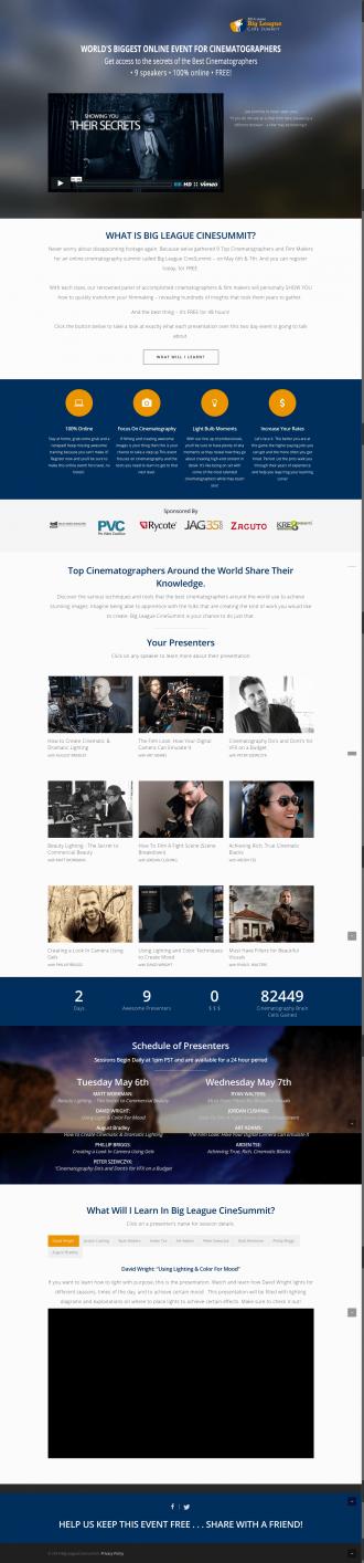 Cinematographer Event