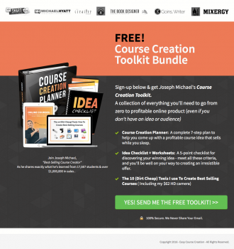 Course Creation Toolkit