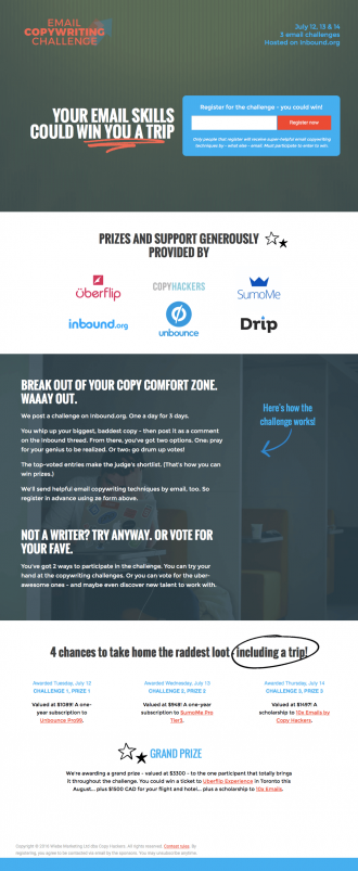 Email Copywriting Challenge