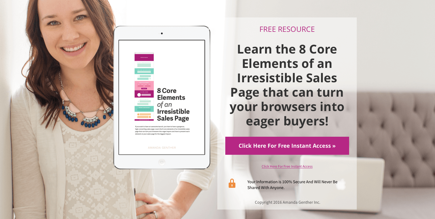 Irresistible Sales Pages