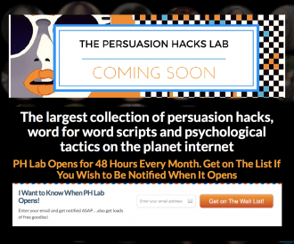 Persuasion Hacks Lab
