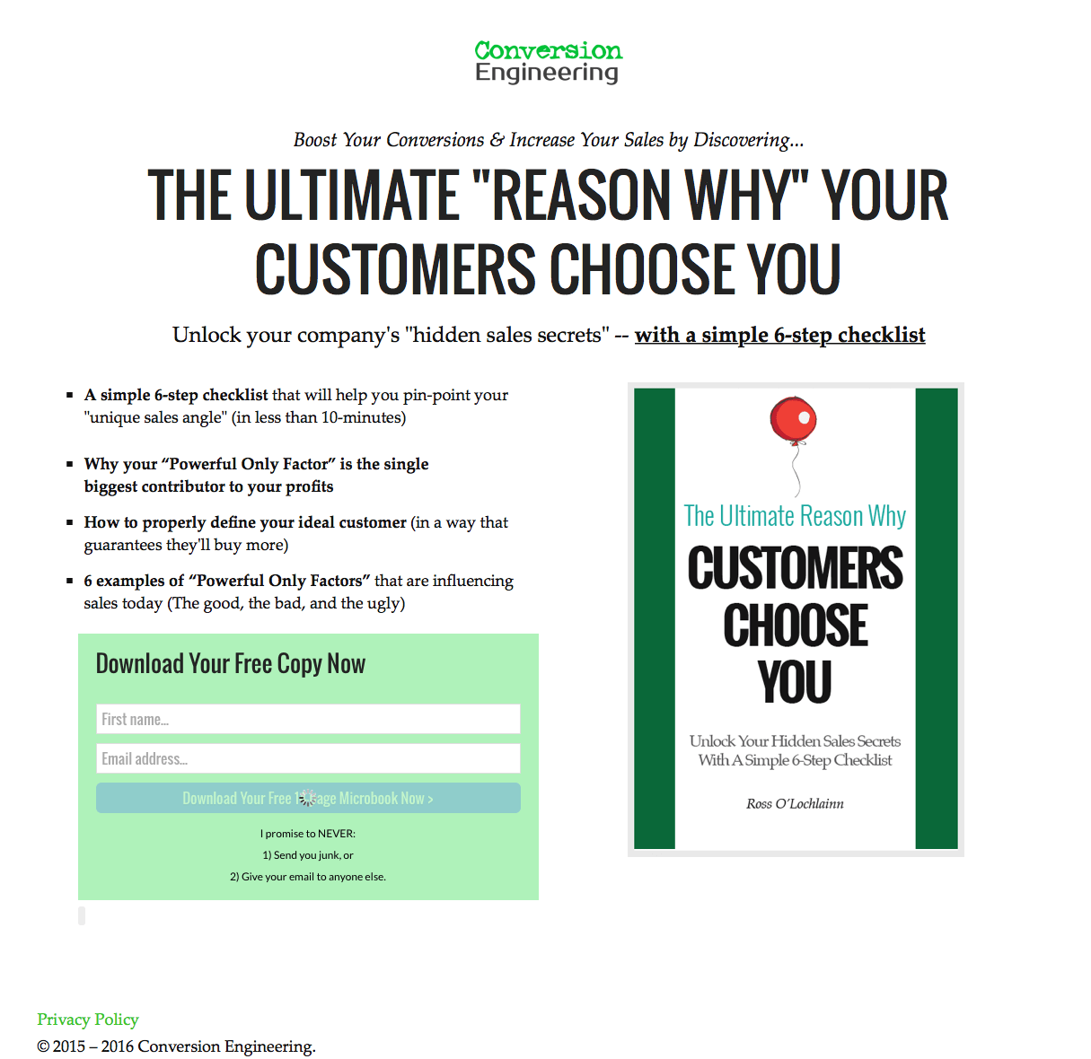 Customers Choose You
