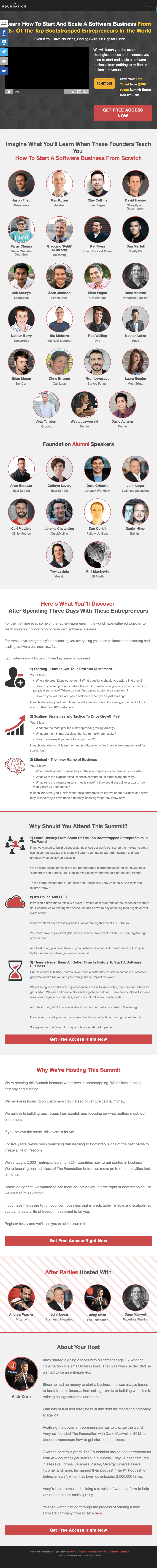 The Foundation Software Summit